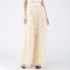 Chicwish Swan Cloud Skirt